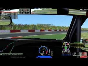 rfactor 2 - RaceDepartment Club Event - Honda Civic at Nürburgring GP Mon 9th June 2014