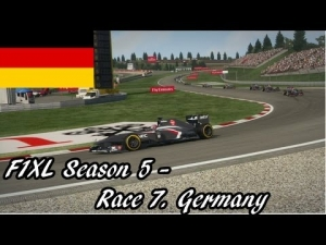 F1XL Season 5 - Race 7. Germany