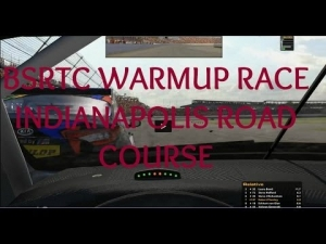 iRacing BSRTC Warmup race at Indianapolis Motor Speedway Road