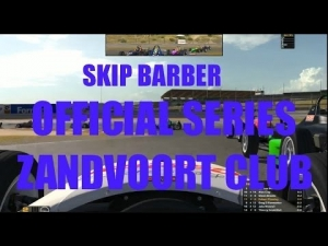iRacing Skip Barber Official race at Circuit Park Zandvoort Club #1