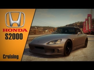 Forza Horizon - Hondaa S2000 cruising through the map and drift before Horizon 2