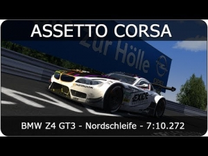 Assetto Corsa | BMW Z4 GT3 - Nordschleife