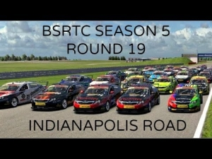 iRacing BSRTC Season 5 Round 19 from Indianapolis Motor Speedway Road Config