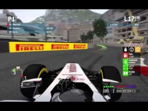 F1 2013 - Slipstreamers Thursday League Race - Monaco 50%