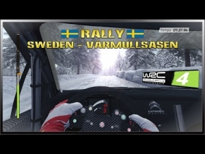 WRC 4 Gameplay - Citroën DS3 @ Rally Sweden