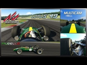 Assetto Corsa MultiCam - Lotus 49 @ Mugello Circuit