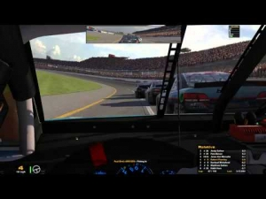 iRacing Monthly Oval Series round 6 from Talladega Superspeedway