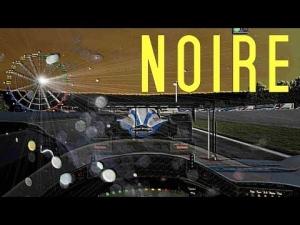 LEMANS NOIRE - Audi vs Peugeot. [rFactor]