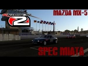 rF2 - Spec Miata - Mazda Mx-5 Race @ Poznan