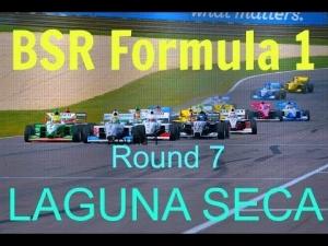 iRacing BSR Formula 1 Round 7 from Laguna Seca