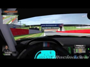 iRacing BMW Z4 GT3 @ Silverstone   Setup & Hotlap 1'45.172