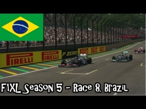 F1XL Season 5 - Race 8. Brazil
