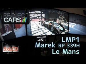 Petit 2014 Le Mans 24h in LMP1 with Project CARS