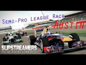 F1 2013 - Slipstreamers Sunday Semi-Pro League Race - Austin 50%