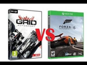 Forza 5 vs GRID Autosport PC massive differences?