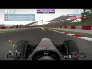 F1 2013 - Nebula League Race Spain 25%