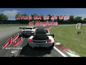 Assetto Corsa MP - Final lap battle for 1st place at Magione