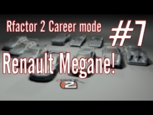 Rfactor 2 Career mode: #7 Renault Megane!