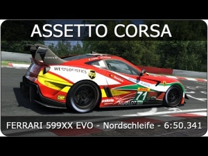 Assetto Corsa | Ferrari 599XX Evoluzione - Nordschleife