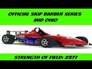 iRacing Skip Barber Official race at Mid Ohio - Battling from 15th to 4th