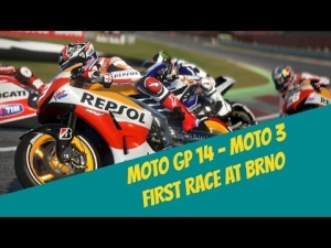 Moto GP 14 First race at Brno