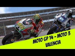 Moto GP 14 First race at Valencia