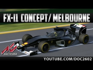 Assetto Corsa | FX-i1 Concept - Melbourne | Hotlap + Replay | HD