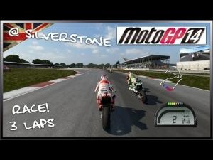 MotoGP 14 PC - MotoGP Race! : Silverstone (Márquez - Honda)