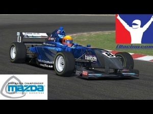iRacing Official Star Mazda at Suzuka - 20 car grid