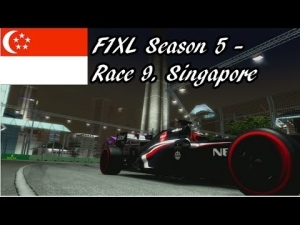 F1XL Season 5 - Race 9. Singapore