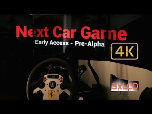 Next Car Game Triple Screen in Ultra settings 4K dirty race