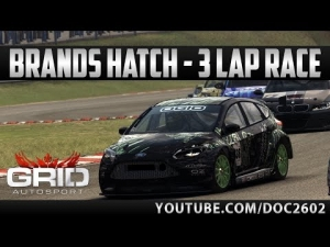GRID Autosport | Ford Focus ST - Brands Hatch | Race + Replay | HD