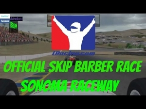 iRacing Skip Barber Official race at Sonoma Raceway