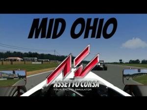 Assetto Corsa Formula Abarth at Mid Ohio