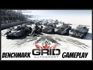GRID Autosport - Benchmark & Gameplay