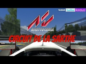 Assetto Corsa Formula Abarth at Circuit de la Sarthe