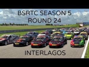 iRacing BSRTC Season 5 Round 24 from Interlagos