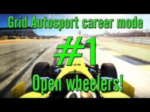 Grid Autosport career mode: #1 Open wheelers
