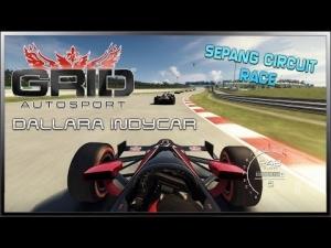 GRID Autosport - Dallara Indycar (Race) @ Sepang Circuit
