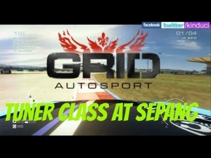 Grid Autosport tuner class time trial at Sepang gameplay