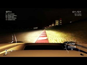 GRID AUTOSPORT gameplay: HONDA NSX night race at Brands Hatch