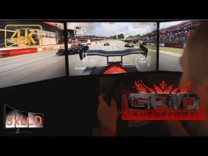 *NEW* GRID Autosport Ariel Atom 500 V8 at Brands Hatch race 3xLCD Ultra settings