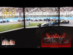 *NEW* GRID Autosport Dallara IndyCar at Indianapolis race 3xLCD Ultra settings