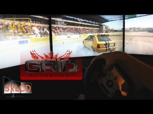 *NEW* GRID Autosport  Lancia Delta Integrale at Algarve race 3xLCD Ultra settings