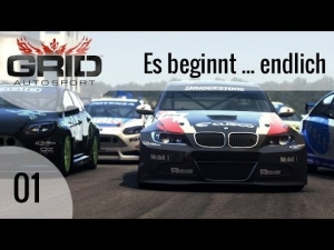 GRID Autosport #01 - Es beginnt ... endlich | Let's Play GRID Autosport [HD]