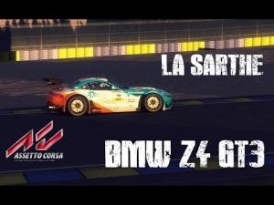 Assetto Corsa - BMW Z4 GT3 Race @ Le Mans - La Sarthe