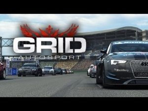 GRiD Autosport [HD+] ★ Intro Race ★Audi RS5 (Cat B Special) @ Hockenheim GP