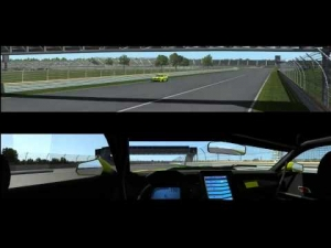 rFactor2 - Chevrolet Camaro GT - Triple Screens @ Indianapolis RC 2014