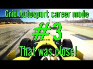 Grid Autosport career mode: #3 That was close!