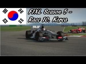 F1XL Season 5 - Race 10. Korea